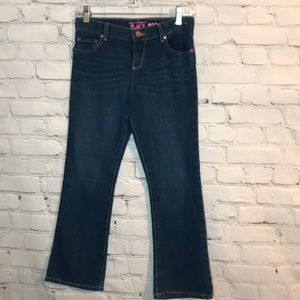NWT The Children's Place Girl's 10P Bootcut Jeans